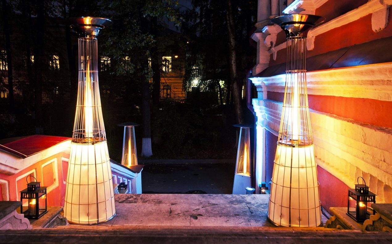 Газовые инфракрасные обогреватели для улицы